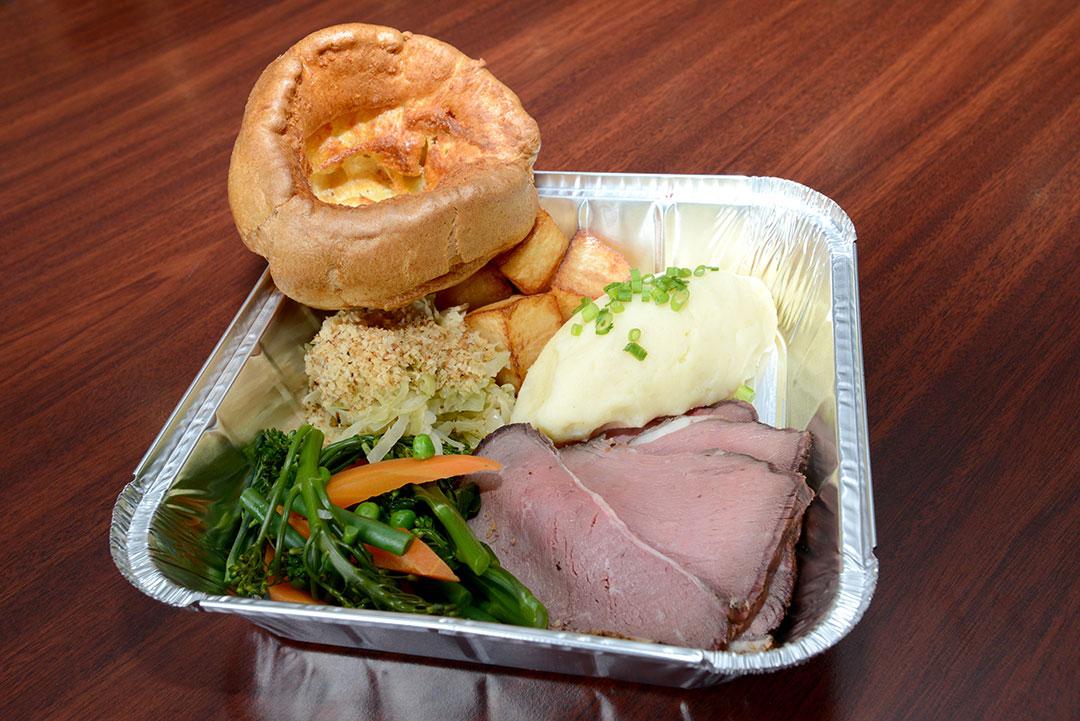 Sunday Roast takeaway